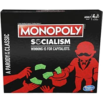 Monopoly Socialism Board Game Parody Adult Party Game - $11.13 - Amazon - LOWEST