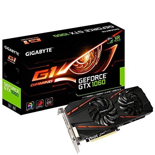 Gigabyte Geforce GTX 1060 G1 6gb Memory $289.99 + FREE SNACK