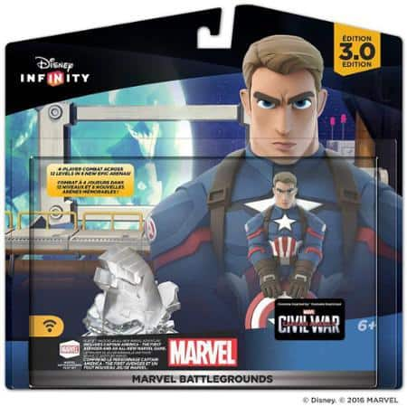 Disney Infinity 3.0 Marvel Battlegrounds - $11.88 @ Walmart - YMMV