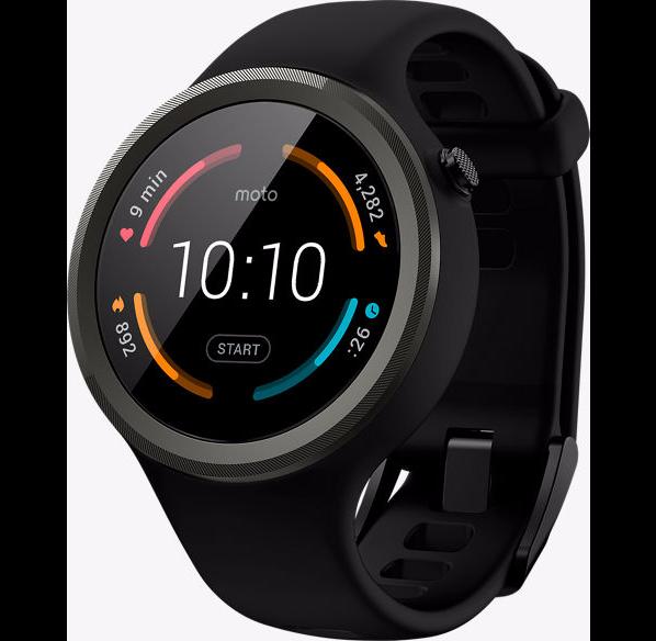 Moto 360 Sport Android Wear 2.0 smartwatch $99.99