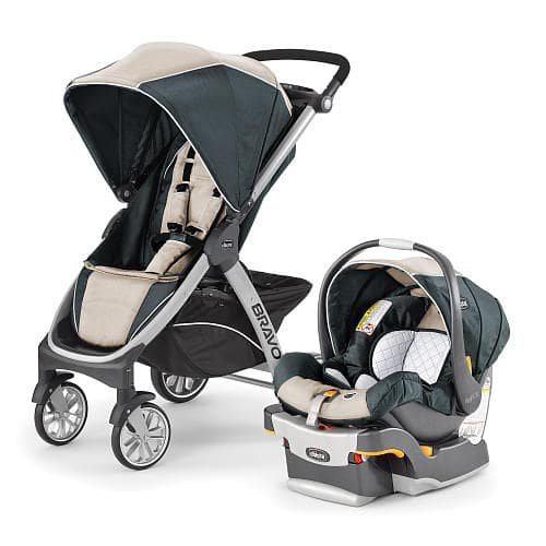 Chicco Bravo Trio Travel System Stroller - Silverspring/Orchid - 259.99 + tax