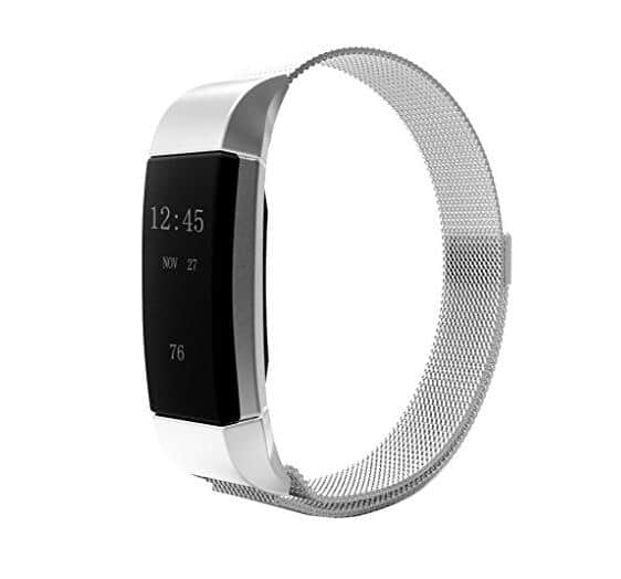 Kartice Fitbit Charge 2 Bands Replacement Stainless Steel Bracelet Strap for $4.99