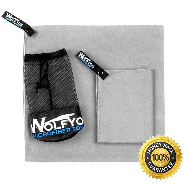 2 Pack Microfiber Travel Sports Towel - $10