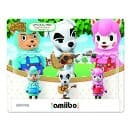 Nintendo Animal Crossing Amiibos Tom Nook $5.90 3-Pack Cyrus Reese K.K. $23 or less on Amazon