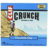 Amazon Deal: 5-Pack of 2-Bar 7.4oz Clif Crunch Granola Bar Pouches (Chocolate Chip) $2.85 + Free Shipping