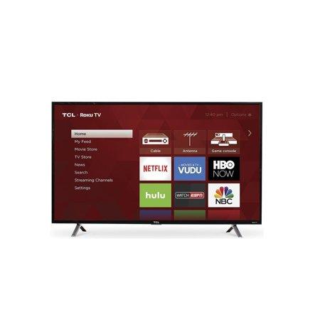 "49"" TCL 49S405 4K UHD Roku Smart LED HDTV (Refurbished) $194.44 + Free Shipping @ Walmart"