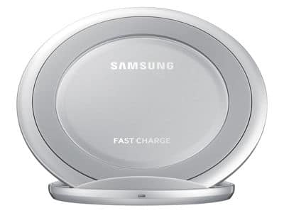 Fast Charge Wireless Charging Stand - Silver/White for $29.99 +tax