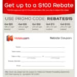Hotels.com - rebates and savings
