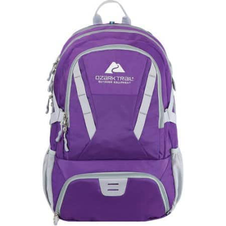 Ozark Trail Choteau Day Pack, Hydration Compatible with 35L Capacity - Walmart $14.99