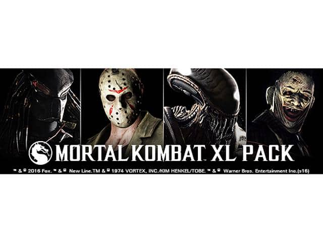 Mortal Kombat XL Pack [Online Game Code] newegg $4.99