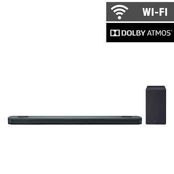 "LG SKC9 47"" 5.1.2 Channel Soundbar and Wireless Subwoofer with Dolby Atmos: $399.99 + Tax"