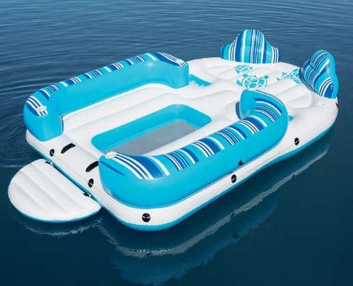 H2O GO! Bahama Wave Island 6-Person Float (Large, 13'x8') for $49.97 at Costco Stores *B&M YMMV*