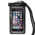 "Universal Waterproof Case (Up to 6.1"" phone Size) $4.5 @Amazon"