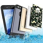 TOTU iPhone 6s Case Water Resistant Armor Cover with Built-in Screen Protector $7.49 AC FS @amazon Prime