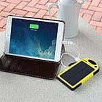 Levin Solar Panel Charger with 6000mAh Backup External Battery for $18 ($10 off) @Amazon