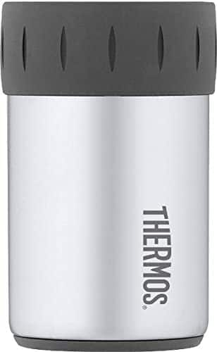 Amazon: Thermos Stainless Steel Beverage Can Insulator for 12 Ounce Can, Stainless Steel $7.09 + FS w/PRIME