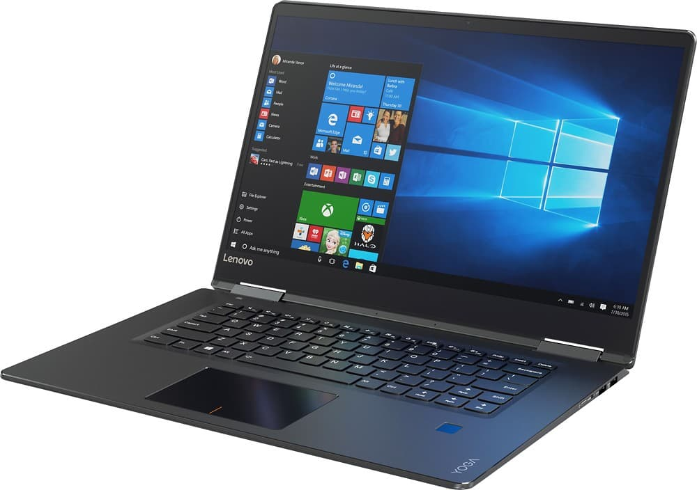 "Lenovo 710 2-in-1 15.6"" 4K Ultra HD Touch-Screen, i7 7th gen, 16gb RAM, 256GB SSD, NVIDIA GeForce GTX 940MX 2GB Dedicated, and fingerprint scanner $879.99 NIB and $773.99 OB."