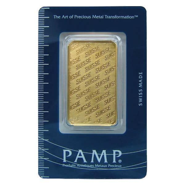 Ebay 1 oz Gold Pamp Suisse Gold Bar, 1 day flash sale, $4.99 over spot!