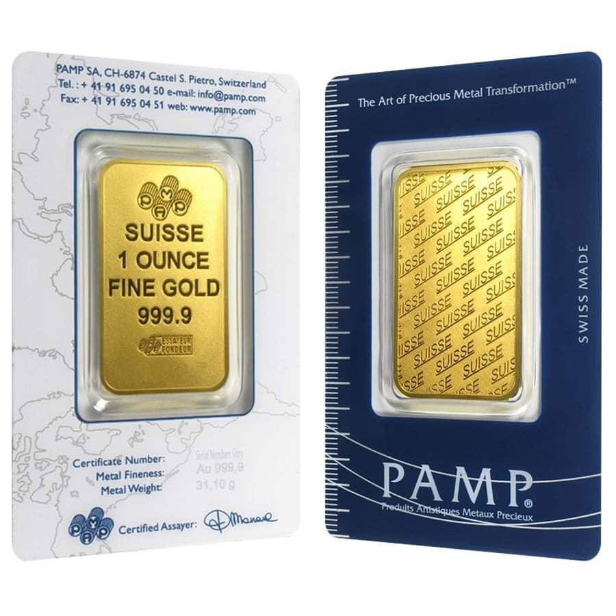 Ebay 1oz Gold Bar Pamp Suisse, $1272 or lower, $2 over spot price, limit 20