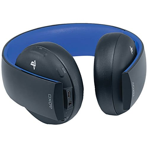 Amazon - PlayStation Gold Wireless Stereo Headset - Jet Black $49.99