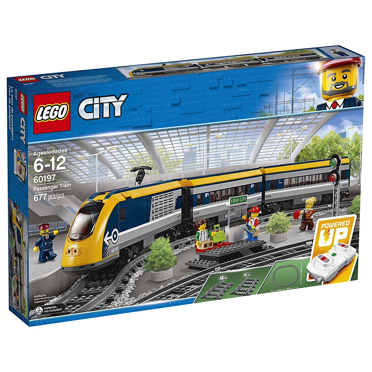 Amazon LEGO Passenger Train 60197 $140.77 (MSRP $159.99)