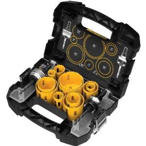 Dewalt DEWALT D180005 14 Piece Master Hole Saw Kit $74.99 + Free Shipping