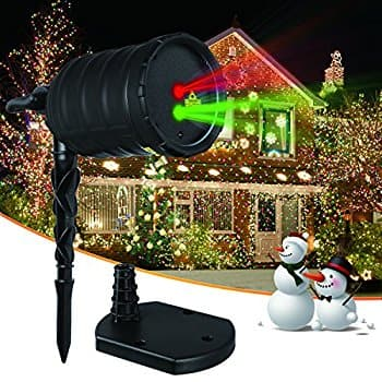 ImaxPlus Christmas Laser Projector 16.23 a/c at Amazon
