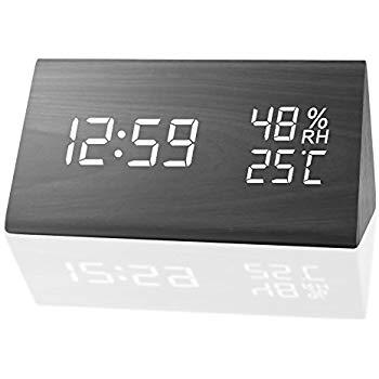 Triangular Digital Alarm Clock $12.99 at Amazon