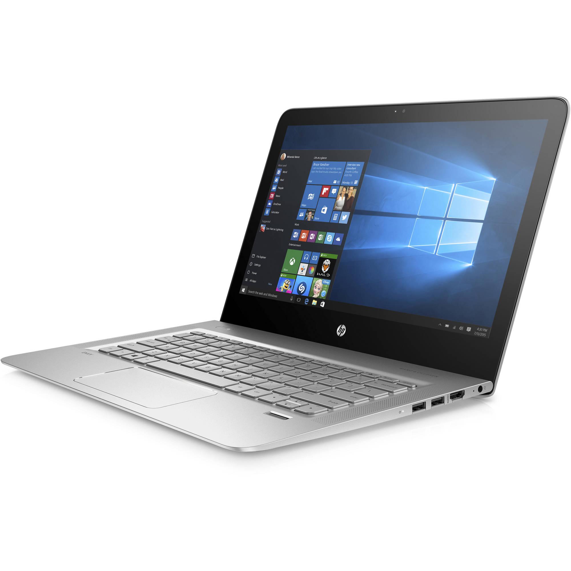 "HP Envy 13-d040wm 13.3"" Laptop, Quad HD+, Intel i7-6500U, 8GB RAM, 256GB SSD B&M Walmart YMMV $450"
