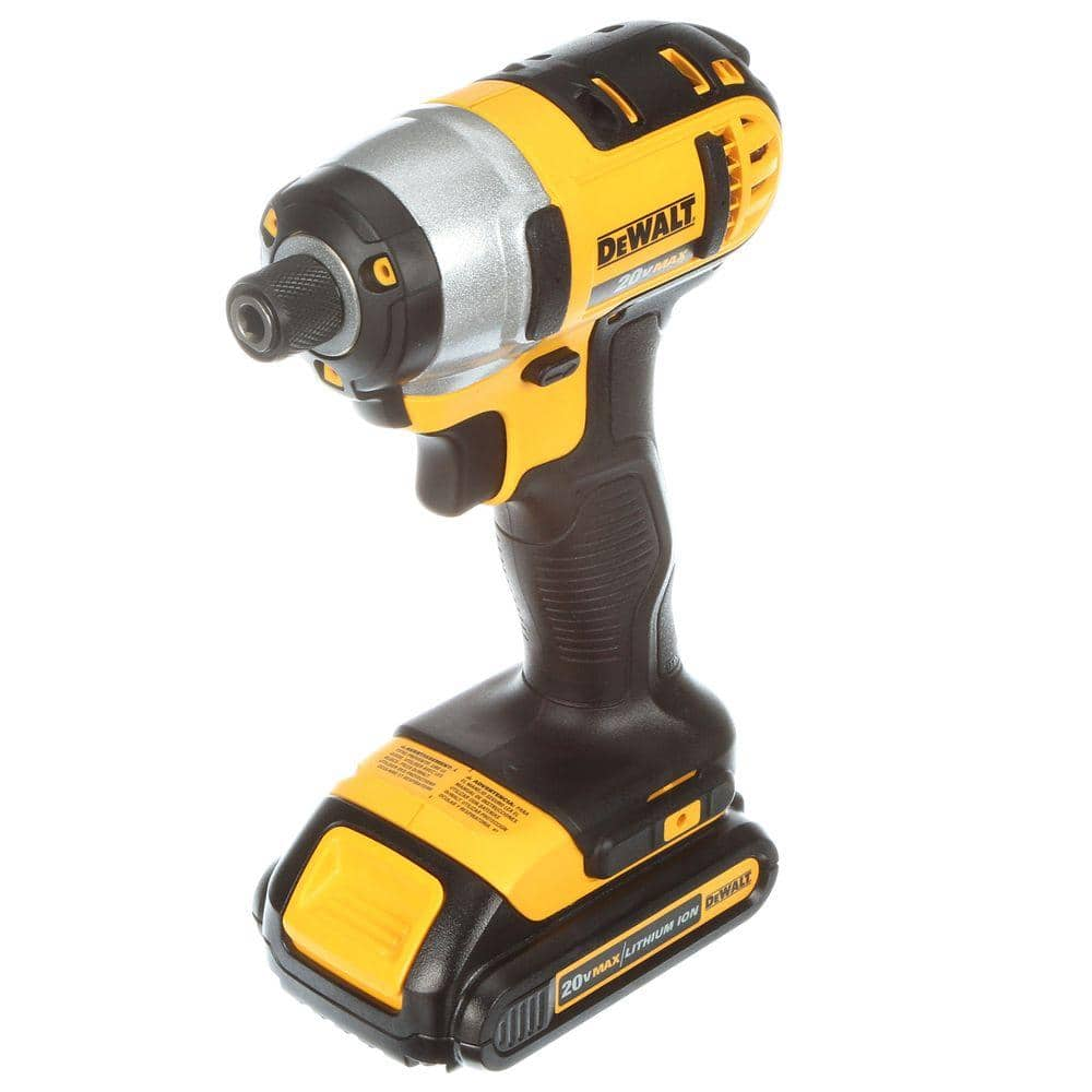 Home Depot: DEWALT 20-Volt MAX Lithium-Ion Cordless Drill/Driver and Impact Combo Kit (2-Tool) with (2) Batteries 1.3Ah, Charger and Case +FREE SHIP $159