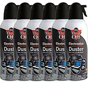 Falcon Dust-Off Professional Electronics Compressed Air Duster, 12 Oz Cans, 6 pack, $14.19 Costco B&M