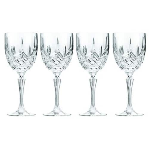 Marquis by Waterford Markham Goblet, Set of 4 with $29.99 off coupon ~ $20 before tax for 4
