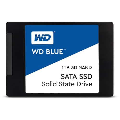 """1TB WD Blue 3D NAND 2.5"""" Internal SATA Solid State Drive $109.99 or less + FS @ Amazon & BH"""