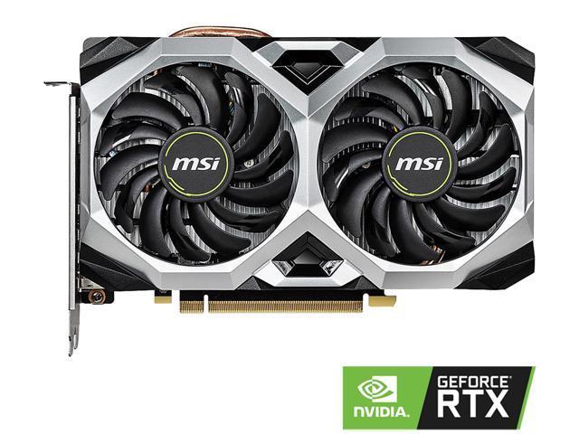 MSI GeForce RTX 2060 Ventus XS 6G OC Video Card $299.99 + FS @ Newegg