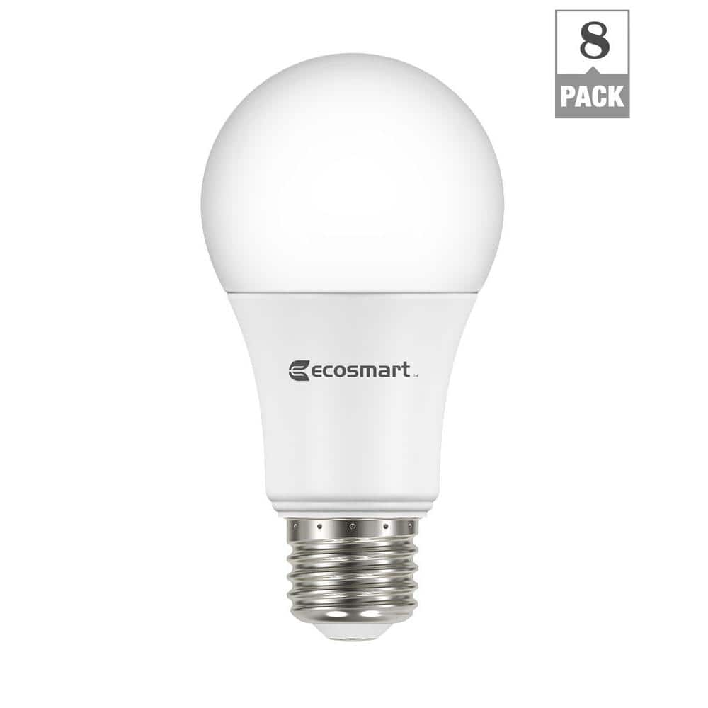 Ecosmart 60w LED 800 lumen 8 pack $15.97 Home Depot In Store + Online April 16 only