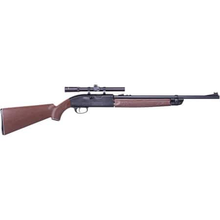 Crosman 2100X Classic .177 Caliber Multi-Pump Air Rifle with Scope- $54