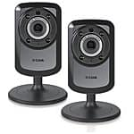 2-PACK D-Link Wireless Day Night WiFi IP Security Camera $99.95 + Free shipping