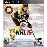 NHL 15 (PlayStation 3) $13.99 + Free Shipping @Target