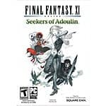Final Fantasy XI: Seekers of Adoulin $4.99, Ultimate Collection Seekers Edition $9.99 (PC Digital Download)