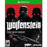 Wolfenstein: The New Order (Xbox One) $14.99 + Free Shipping