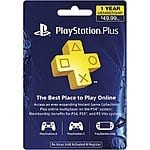 Sony PlayStation Plus 12-Month Membership $39.99 + Free Shipping @Best Buy