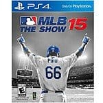 MLB 15: The Show (PS4) $19.99 @Target (8/9 - 8/15)