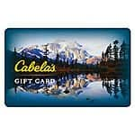 $50 Cabela's Gift Card $40 + Free Shipping