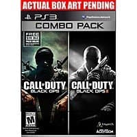 Best Buy Deal: Call of Duty: Black Ops & Call of Duty: Black Ops II Combo Pack (PlayStation 3, Xbox 360) $19.99 or $15.99 w/ GCU + Free Store Pickup @Best Buy