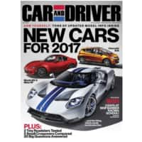 4-Years Car and Driver Magazine