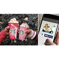 Starbucks Card: Load $10 & Get a $10 Starbucks eGift Card