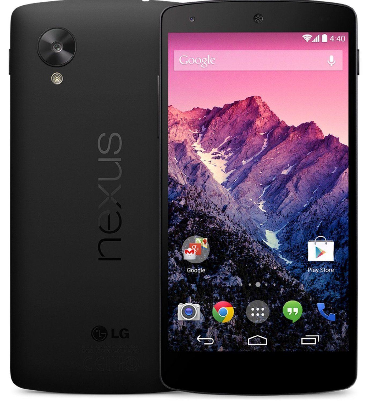 LG Nexus 5 D820 - 16GB - Black GSM Factory Unlocked Android 4G LTE Smartphone- $175