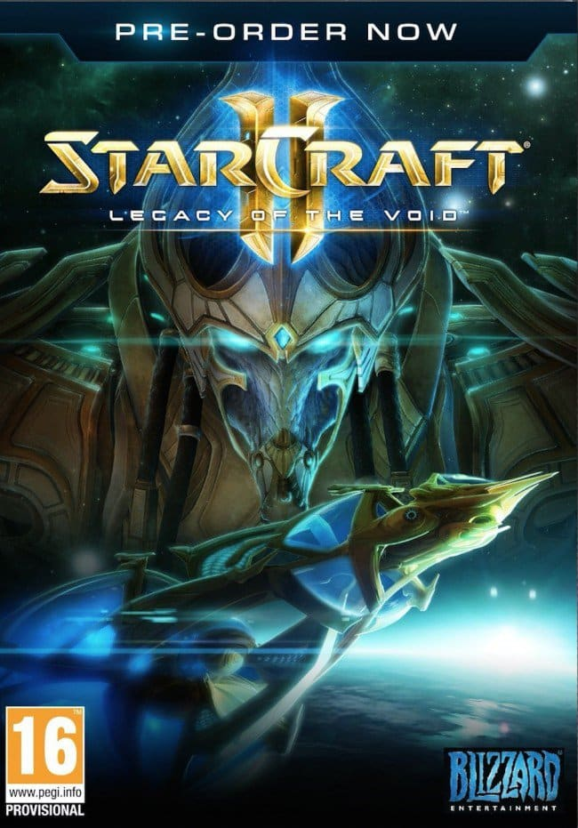 Starcraft II: Legacy of the Void Pre-Order (PC Digital Download)  $28 or less