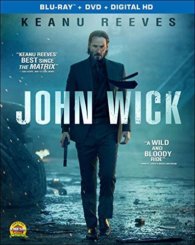 John Wick (Blu-ray + DVD + Digital HD)  $4.50 + Free Shipping