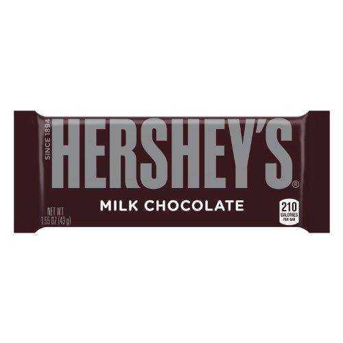 36-Pack of 1.55oz Hershey's Milk Chocolate Bars  $6.35 + Free Shipping
